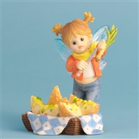Side of Potato Skins - My Little Kitchen Fairies Figurine, 4030646