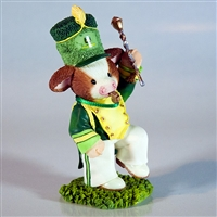 John Deere Drum Major Figurine by Mary's Moo Moos