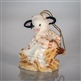 Girl Cow with Basket of Hay Hanging Ornament - Mary's Moo Moos, 117955