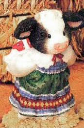 Mary's Moo Moos Moo-ey Kisses Under The Mistletoe Girl 480940