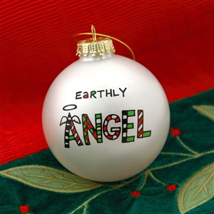 'Earthly Angel' Christmas Ball Ornament, 4028064