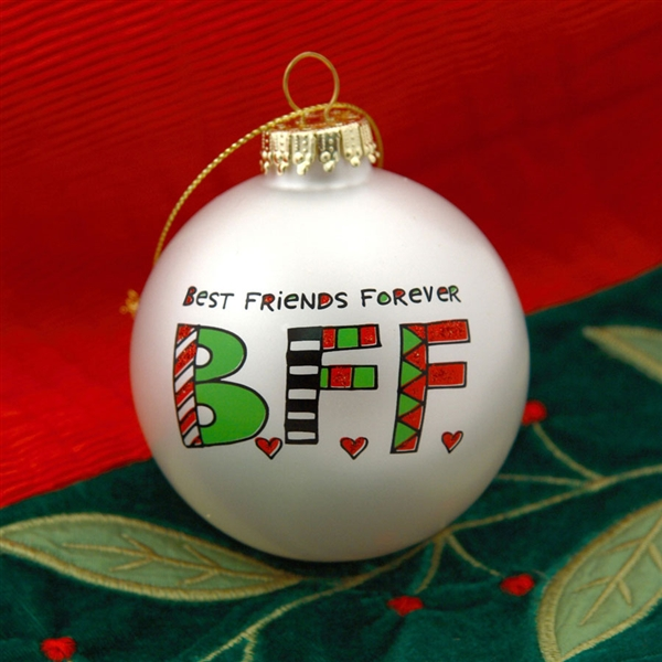 best friends forever christmas ball ornament 4028067 - Best Friend Christmas Ornaments