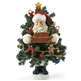 Santa Inside Christmas Tree Possible Dreams Figurine 4027066