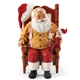 Possible Dreams Santa with Elf on Shelf Figurine
