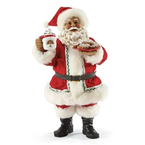 Possible Dreams Santa with Hot Chocolate and Cookies, 4042161