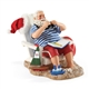 Possible Dreams Santa on Vacation by the Beach Figurine 4046487