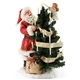 Possible Dreams Santa Decorating Tree Figurine, 4046516