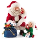 Possible Dreams Fisher Price Chatting with Santa Figure Set, 4046524