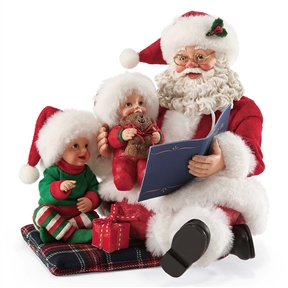 Possible Dreams Read It Again Santa with Kids, 4046533