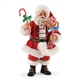 Possible Dreams Santa with Candy Canes Figurine