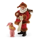 Possible Dreams Santa with new best friend figurine