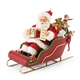Possible Dreams Santa Elves and Sleigh Figurine