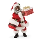 Possible Dreams African American Santa with Present (that opens!)
