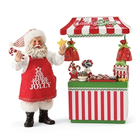 Possible Dreams Santa's Sweet Shop Figurine Set