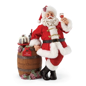 Possible Dreams Santa Claus at the Winery Figurine, 4057016
