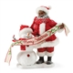 Possible Dreams African American Santa in the Meadow with Snowman Figurine 4057030