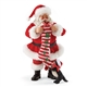 Possible Dreams Santa with Stocking and Kitten Figurine, 4057095