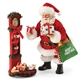 Possible Dreams Santa Leaving Presents for Pets Figure Set 4057119