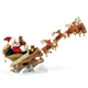 Dash Away All Santa and Sleigh Possible Dreams Figurine, 4057134