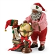 Possible Dreams African American Santa 'Across the Globe' Figurine Set 4057448