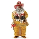 Possible Dreams African American Santa to the Rescue Fireman, 4059839