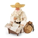 Possible Dreams Hispanic Styled Santa with Baby Jesus Figurine Set, 4060124