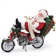 Possible Dreams Power Nap Santa on Motorcycle, 6000686