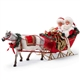 Possible Dreams One Horse Open Sleigh Santa and Mrs. Claus, 6000717