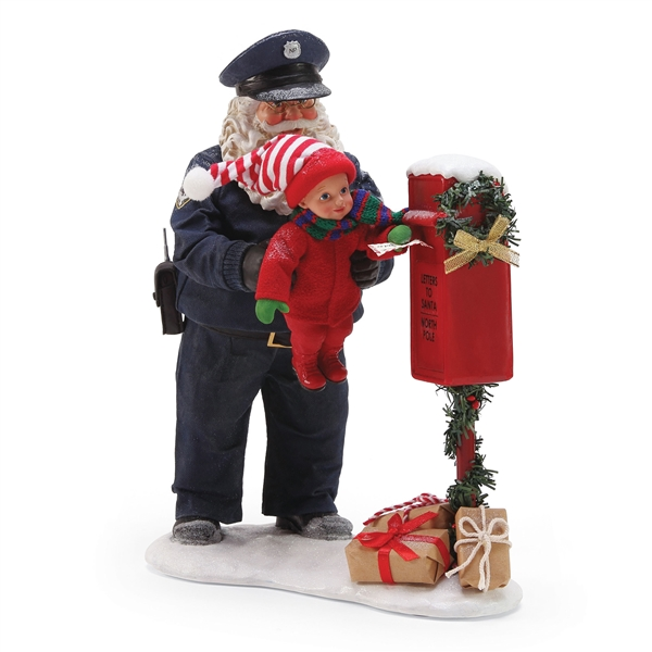 Possible Dreams Protect and Serve  Figurine by Department 56, 6000799