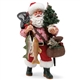 Possible Dreams Cat Fish Santa Figurine, 6000804
