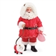 Possible Dreams Santa with Puppy Figurine by Department 56, 6003432