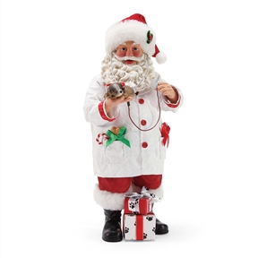 Possible Dreams Santa Doctor Figurine by Department 56, 6003434