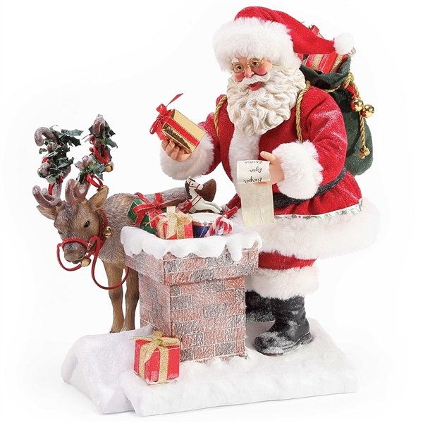 Possible Dreams 'Rooftop Magic' Santa Figurine | 6003843
