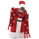 Possible Dreams African American Bundled Up Santa, 6003863
