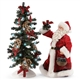 Possible Dreams 'Rustic Christmas' Santa with Lighted Tree, 6006030