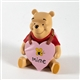 Pooh & Friends 'Bee Mine' Pooh with Valentine Sign Figurine, 1027691