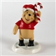 Christmas Bear with Candy Cane Pooh & Friends Figurine, 1202169