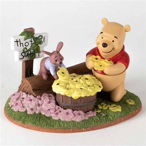 Pooh & Friends Picking Flowers with Roo Figurine, 1205539