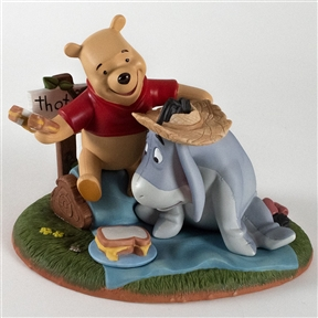 Pooh & Friends Picnic with Eeyore Figurine,1205540