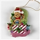 Pooh & Friends Christmas Chair Hanging Ornament, 37445