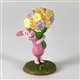 Pooh & Friends Piglet with Bouquet of Flowers Figurine, 4004023