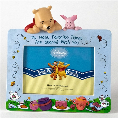 Pooh & Friends 'Favorite Things' Photo Frame, 4004030