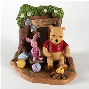 Pooh & Friends Campfire at Pooh's House Figurine, 4005060