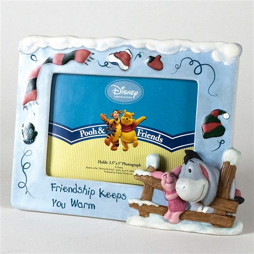 Pooh & Friends Piglet and Eeyore Photo Frame, 4005905