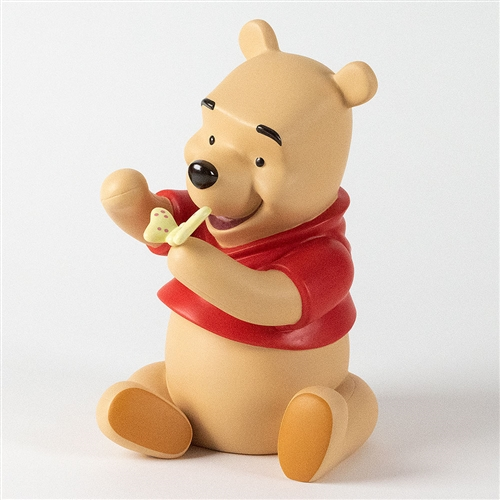 Pooh Holding Butterfly - Pooh & Friends Figurine Bank, 4009040