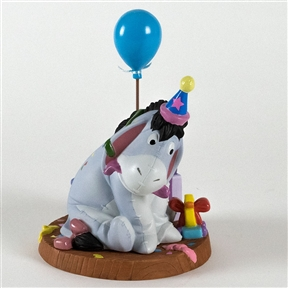 Eeyore Birthday Party - Pooh & Friends Figurine, 4010010