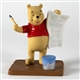 Pooh & Friends Pooh Making Card Figurine, A5565
