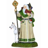 Father Christmas Santa of Ireland - Pipka by Precious Moments Figurine, 11212