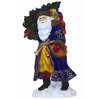 Russian Father Christmas - Pipka by Precious Moments Santa Figurine, 11374