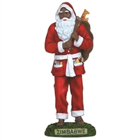 Zimbabwe Santa - Pipka by Precious Moments Figurine, 14019